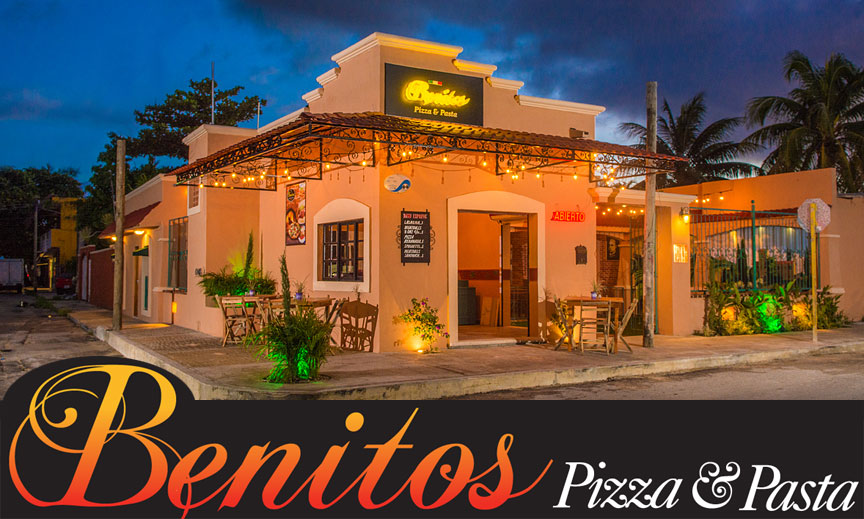 Cozumel Pizza at Benitos